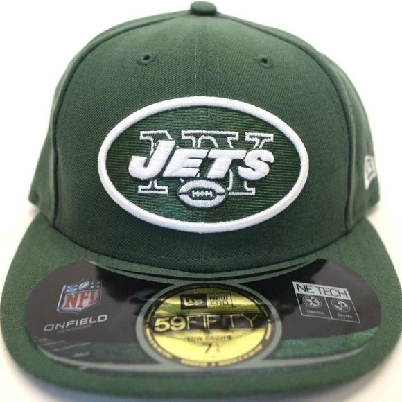 Men s New Era New York Jets 59Fifty Sz 7-1 8 Cap 7175c77ad